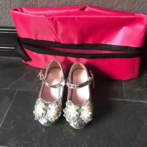 Other - Toddler girl glitter sequins party shoes